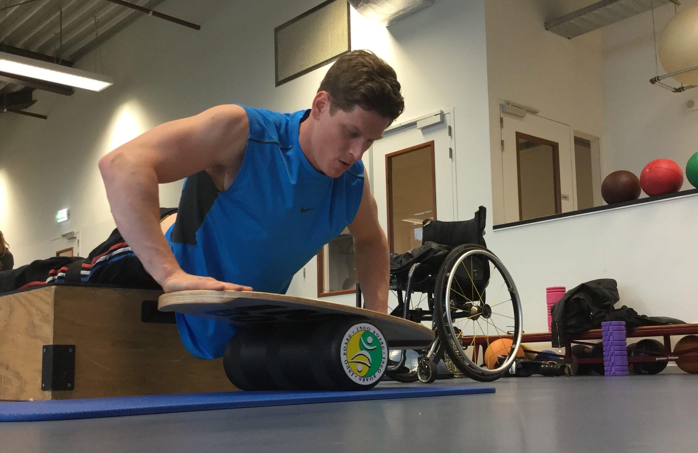 Sponsor Floris in zijn weg naar de Paralympics 2022!